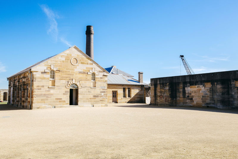 HT-ZK Cockatoo Island Convict Courtyard 800