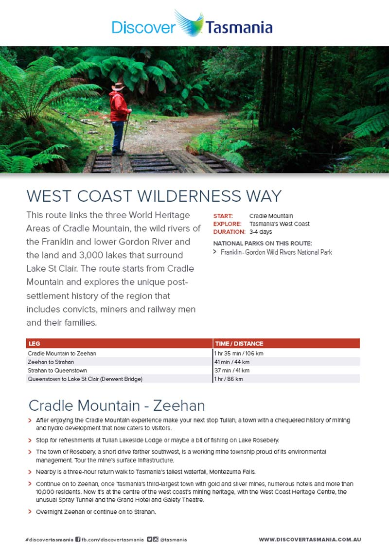 West Coast Wildernis Way