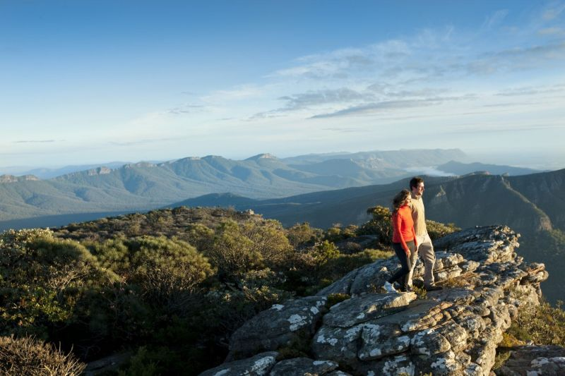 TVIC-grampians peak trail mount william boronia peak