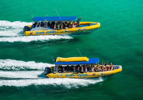 """Ocean Rafting"" durch die Whitsunday Islands"