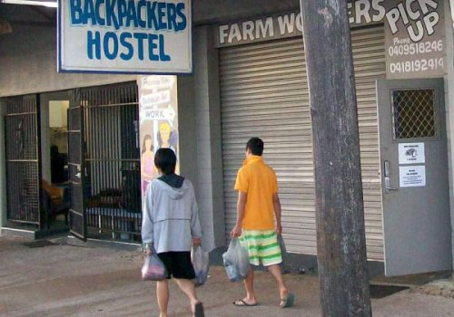 Sicherheit in australischen Backpacker-Hostel